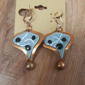 Super cool Copper Handmade Earrings